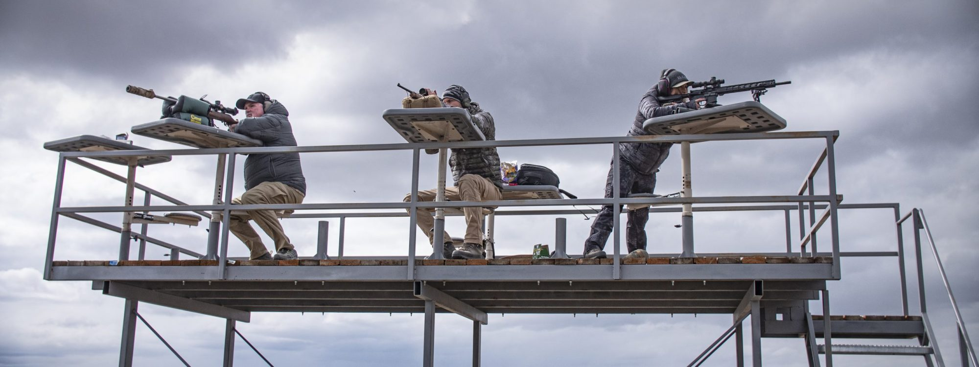Elevated Shooting Platform